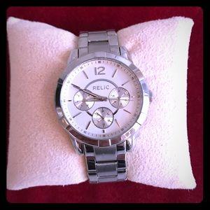 Relic Women's ZR15696 Analog Quartz Watch